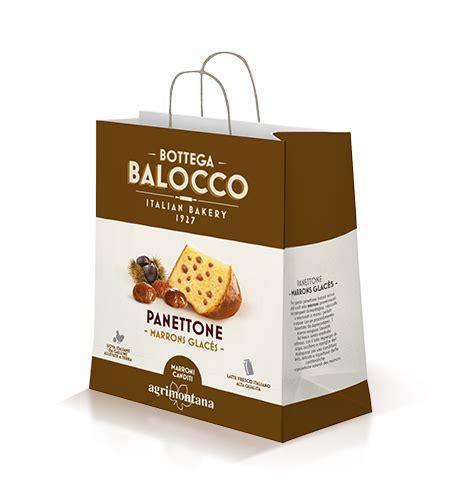 marrons glaces panettone  shopper italian bakery