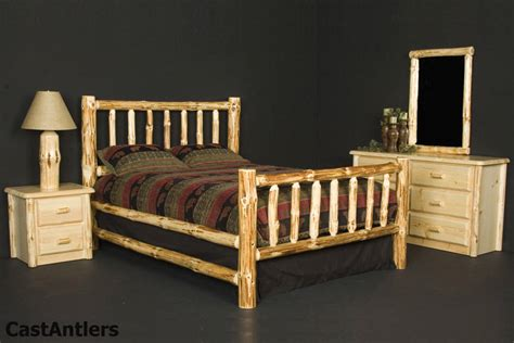Rustic Bedroom Sets  Rustic Log Bedroom Set Rustic