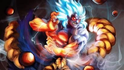 Oni Akuma Fighter Street Marvel Capcom Captain