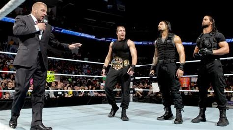 wwe news triple  comments  joining  shield  wwe