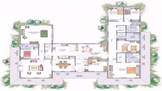 Genius U Shaped Home Plans by House Plans U Shaped Floor Plan