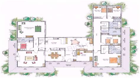 house plans  shaped floor plan youtube