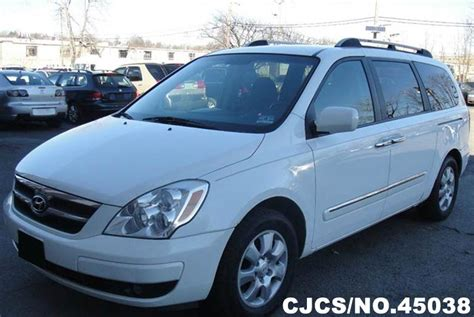 2007 Hyundai Entourage For Sale by 2007 Left Hyundai Entourage White For Sale Stock No