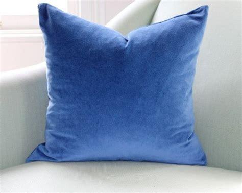 indigo pillow covers indigo blue velvet cushion pillow cover