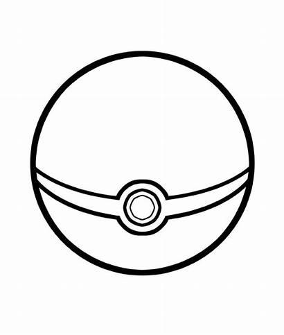 Pokeball Coloring Pokemon Ball
