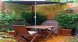 idee deco terrasse amenagement avec bois et plantes With beautiful quelles plantes pour jardin zen 8 quelles plantes pour un balcon fleuri