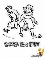Easter Basket Coloring Pages Boys Egg Baskets Printables Handsome Print Yescoloring Cool Craft Colour sketch template
