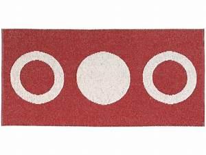 Tapis En Plastique : tapis en plastique le tapis de horred circle rouge ~ Teatrodelosmanantiales.com Idées de Décoration