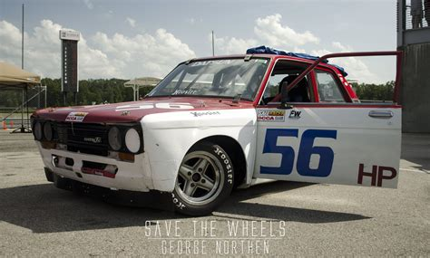 Datsun 510 Wheels by Revolution Competition Wheels On A Datsun 510 Racecar