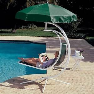Bain De Soleil Deux Places : chaise longue suspendue et fauteuil relax ~ Dailycaller-alerts.com Idées de Décoration