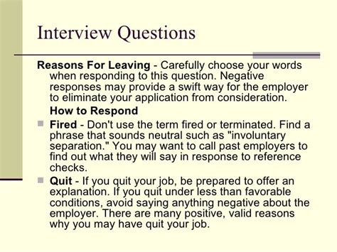 reason for leaving job when fired myideasbedroom com