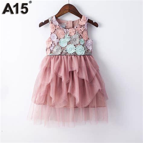 dress anak atasan anak baju anak a15 gown dress 2017 toddler summer