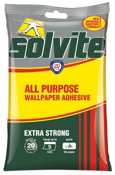 solvite  purpose wallpaper adhesive  departments