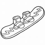 Coloring Winter Surfnetkids Hockey Ice sketch template