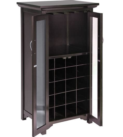 wine rack storage cabinet two door wine cabinet in wine racks