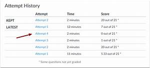How do I view quiz results as a student? | Canvas LMS ...