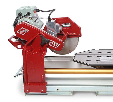 mk diamond mk 101 pro series tile saws