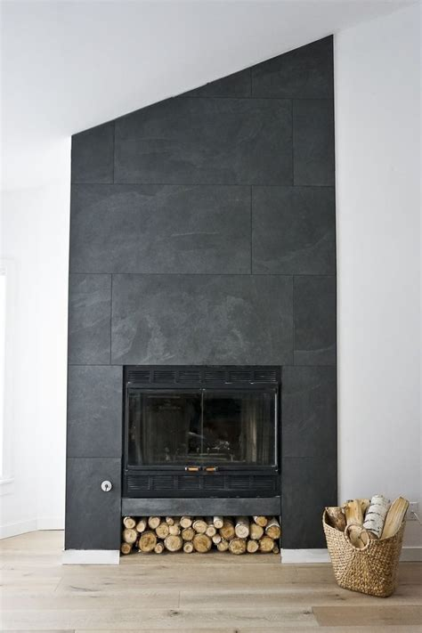 15 black fireplace tile ideas collections fireplace ideas
