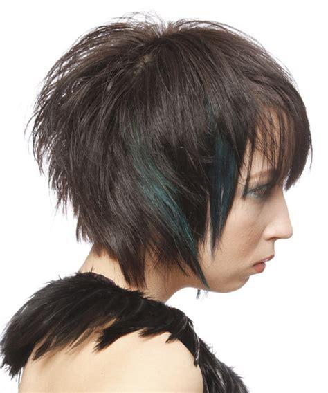 alternative short straight hairstyle