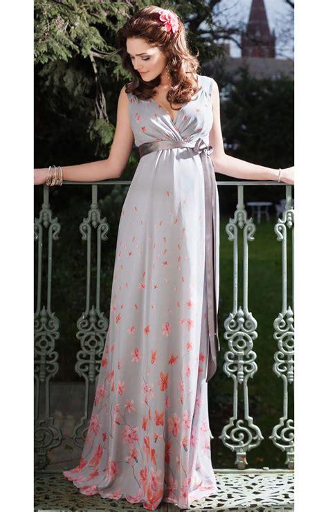 jasmine maternity gown long peach blossom maternity