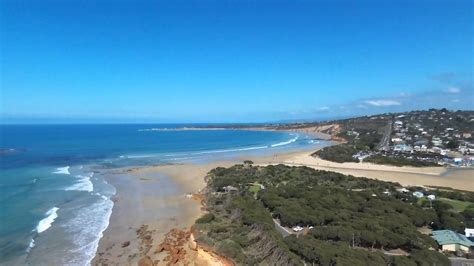 anglesea beach victoria parrot bebop drone youtube
