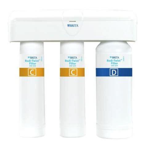 brita under sink water filter brita redi twist purifier 3 stage drinking water