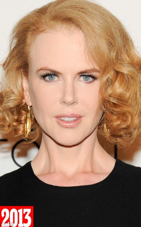 Hair Turning With Age by Kidman How Come You Ve Hardly Aged A Day In 20