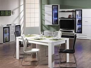 salle a manger de chez conforama 10 photos With meuble salle À manger avec table blanche