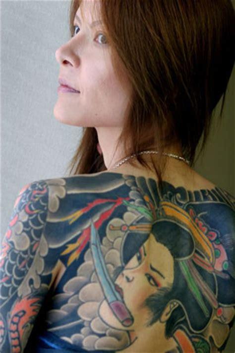 foto de Yakuza Tattoos on Japanese Men & Women