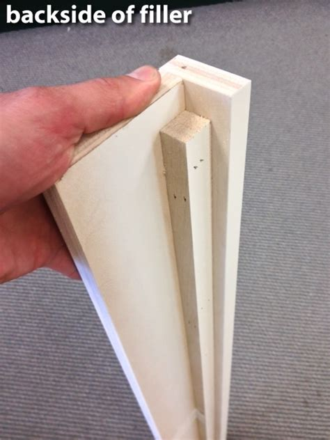 how to install a cabinet filler base cabinet filler
