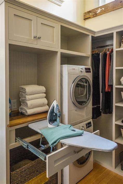 closet ironing board contemporary closet la closet