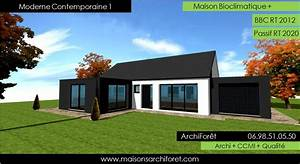 maison contemporaine moderne et design d architecte With attractive idee maison plain pied 2 photo de maison darchitecte plain pied