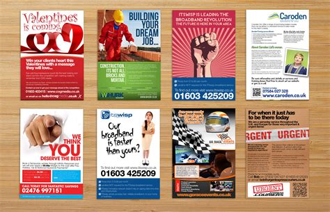 flyer companies leaflet and flyer design norwich norfolk graphic design