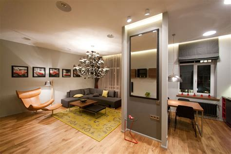 studio apartment interior design studio apartment in riga latvia by eric carlson