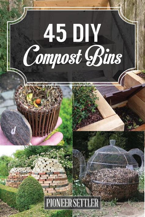 How To Backyard Compost by 25 Best Ideas About Composting Bins On
