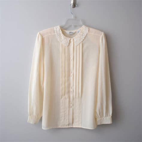 lace collar blouse lace blouse black blouse