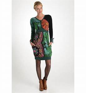 52 best desigual dress aw 2014 images on pinterest With robe desigual verte