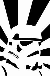 Stormtrooper Star Wars Drawing Wallpaper - Free iPhone ...
