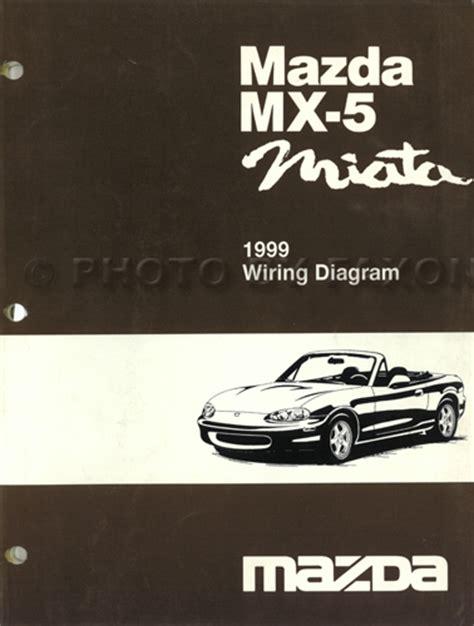 Mazda Miata Electrical Wiring Diagram Original