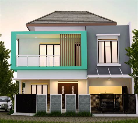 desain rumah minimalis modern   diminati