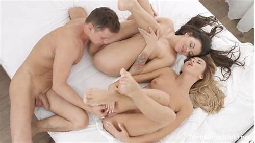 Double Cunts Threesome With Luna Corazon Dap #Katrin #Tequila