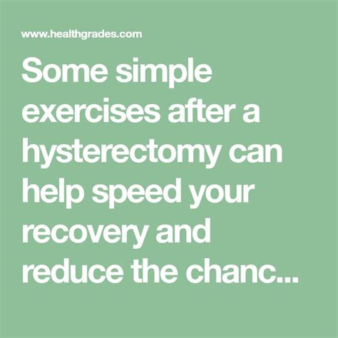 5 Safe Exercises After Hysterectomy | Hysterectomy ...
