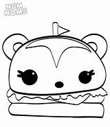 Num Coloring Noms Pages Nom Burger Printable Cereal Hamburger Om Squishy Hammy Cute Print Getcoloringpages Kawaii Box Bowl Result Inspirational sketch template