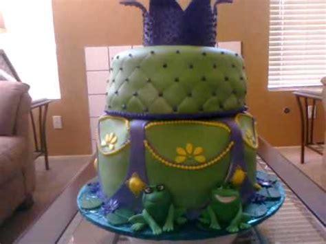 princess   frog theme cake youtube
