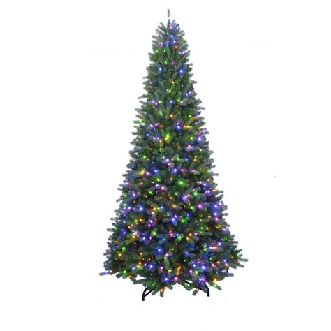 home accents holiday 7 ft to 10 ft led pre lit