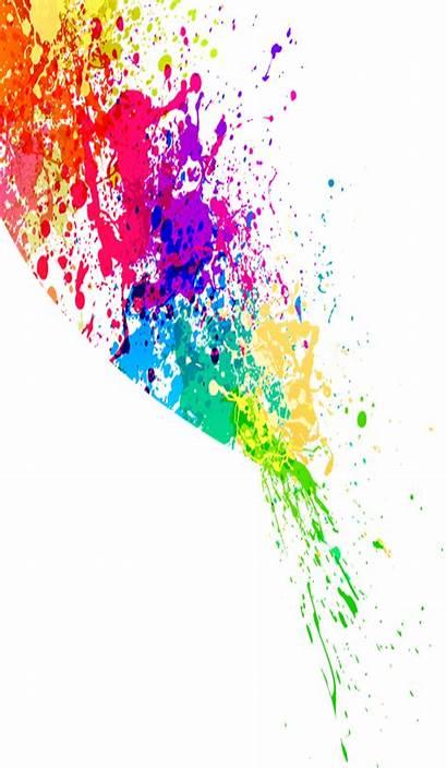 Splash Splatter Paint Colorful Colors Clipart Splats