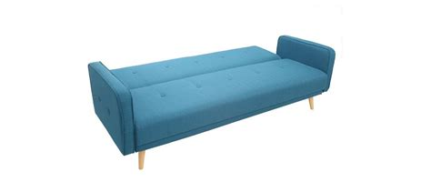 canapé convertible design scandinave canapé convertible 3 places design scandinave bleu ulla