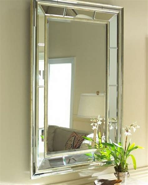 Bevelled Bathroom Mirror by Decorating The House With Beveled Mirrors