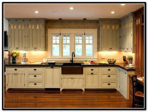 prairie style kitchen cabinets enchanting craftsman style kitchen cabinets also home 4383