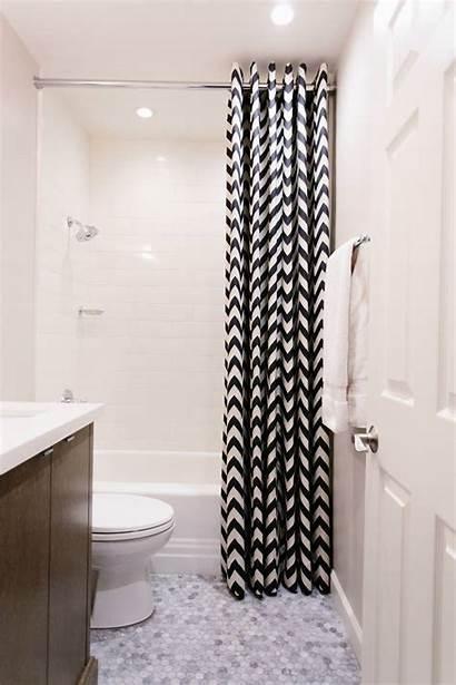 Curtain Shower Bathroom Floor Ceiling Tile Curtains